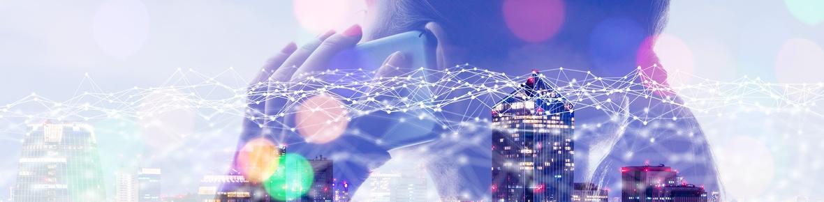 Titelbild für den Bereich Telekommunikation