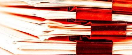 Hintergrund Papierstappeln