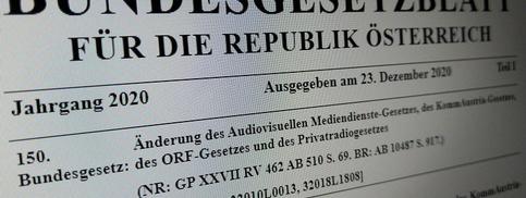 150. Bundesgesetz: Kopf des Bundegesetzblattes