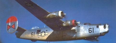 Flugzeug der US Air Force im zweiten Weltkrieg